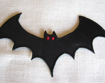MOUSE HALLOWEEN bat - Patch embroidered patch Thermo * 6 x 12 cm *.