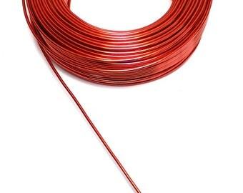 Aluminum wire ORANGE 2 mm Cup diameter