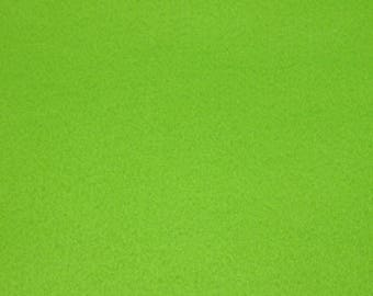Felt coupon Green 20/30 cm to 1.5 mm thick