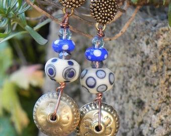 """dream of Africa"" earrings"