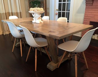 Coastal Farmhouse dining table
