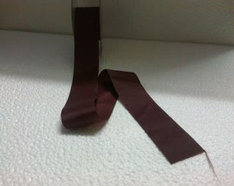 35mm wide stranded 3802 burgundy polyester Ribbon.