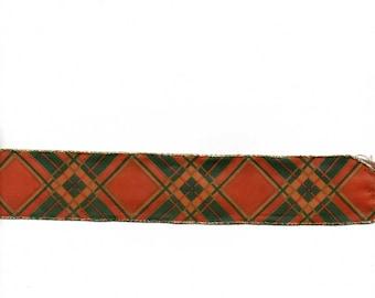 Beautiful holiday decor brass 4 cm wide ribbon