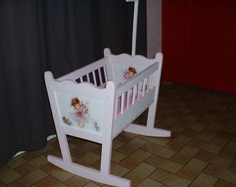 Cot rocking for large Doll or REBORN - 60 cm - used
