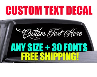 Windshield Decal Etsy - Chevy windshield decals trucks