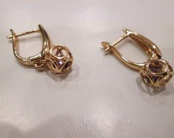 Small bangle earrings