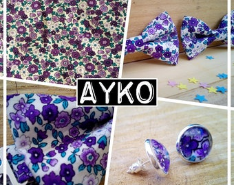 "Collection ""AYKO"" bow tie baby - child - teen adult liberty"