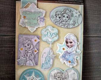 Embellishment, Die cuts-Disney - Chipbord, frozen, Scrapbooking, cardmaking, crafting