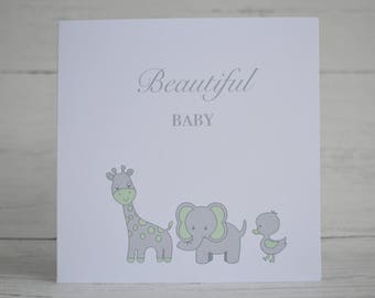 New Baby card, It's a baby, Beautiful Baby