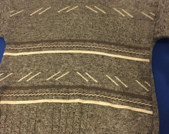 Men's wooly pattern jumper size large