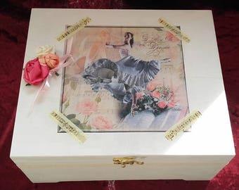 Romantic jewelry box large format