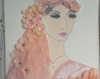 painting romantic shabby chic
