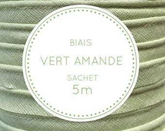 5 m bias - almond green pouch