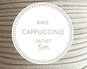 Sachet 5 m bias - Cappuccino