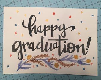 Happy Graduation Print Card