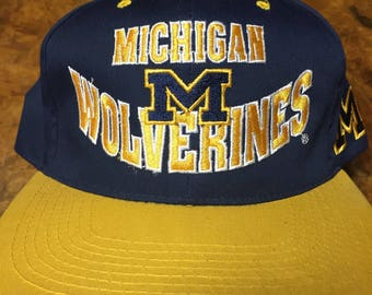Michigan Wolverines VTG Snapback