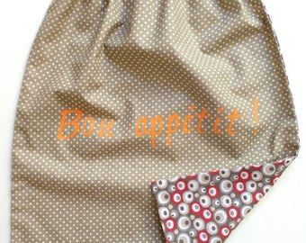 Napkin, canteen cotton mini polka dots
