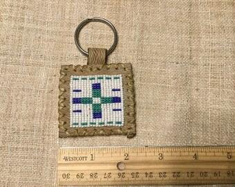 Beaded keychain