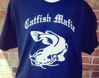 Black Catfish Mafia Tee