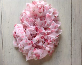 Lovely scarf Ribbon pink to compliment your outfit