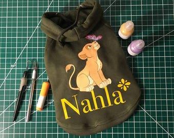 Dog hoodie (custom)