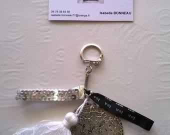 """""""arabesque"""" key chains and charms"""