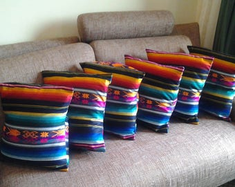 6 COVERS PILLOWS AND SOFA ABLE COTTON