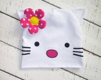 """Hat """"Kitty, Hello"""""""