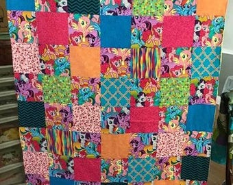 My Little Pony Throw Blanket, Pink