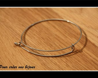 Silver plated Bangle of 6.5 cm