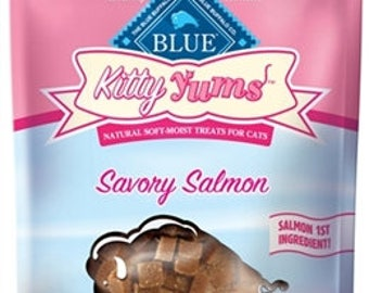 LOT OF 3 - Blue Buffalo Kitty Yums Cat Treats, 2 oz packages , 6 VARIETIES to choose from