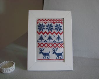 Embroidery for Nordic Christmas decor