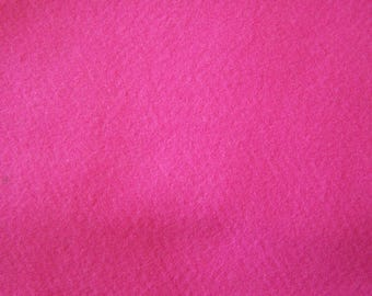 Coupon felt type A4 format, pink pig (26)