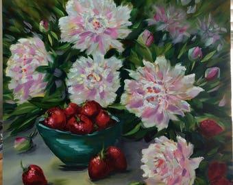 SPLENDOR original oil painting