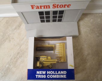 New Holland TR98 1/64 Scale Ertl Combine
