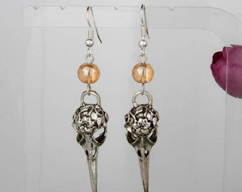 Gothic Silver Earring