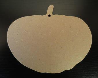 13 cm wooden MDF - Gomille pumpkin