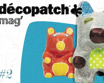Decopatch Mag N 2 - funny animals - Ref MAG02 - until the stock!