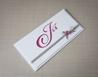 Wedding invitation / invitation / invitation / Berry