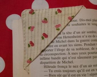 Bookmark square pattern – cherries