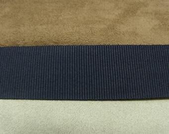 gros grain-2, 5 cm - Navy Ribbon