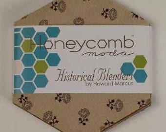 Collection for a Cause - Historical Blenders By Howard Marcus for Moda Fabrics - 1 Honeycomb