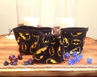 Batman Dice Bags