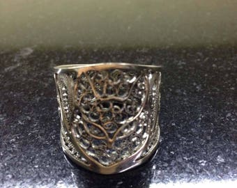 Handmade filigree ring