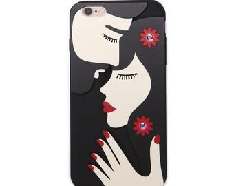 Stylish iPhone case 'Romantic couple'