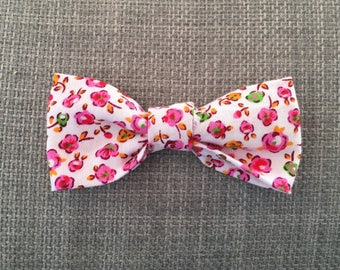 With Liberty bow hair clip