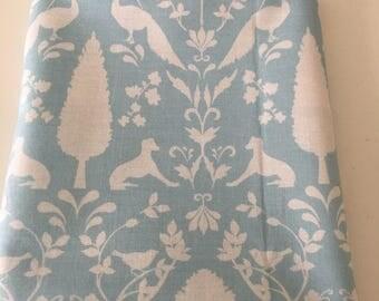 Light blue cotton fabric pattern 42 * 40