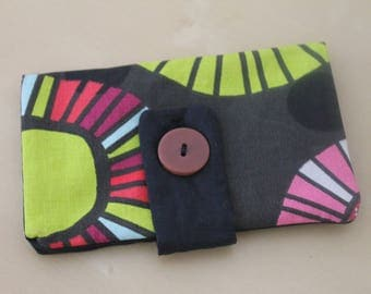 Tobacco pouch in fabric patterns