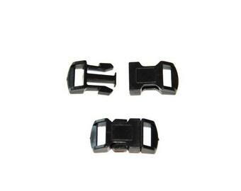 Boucle attache rapide 10mm / Fermoir / Clip / plastique