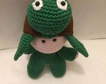 Crochet Amigurumi Turtle Doll